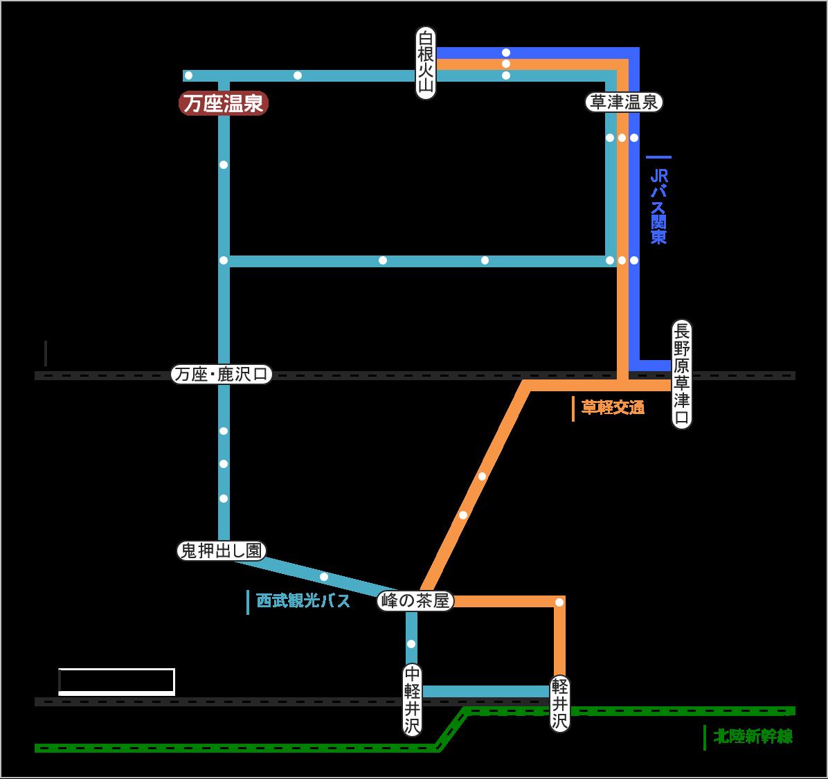 バス 路線図 Htfyl